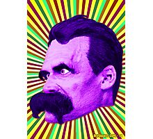 Nietzsche Burst 5 - by Rev. Shakes Photographic Print