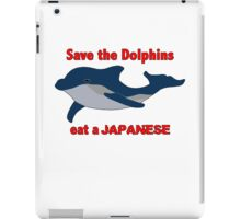 Save dolphins iPad Case/Skin