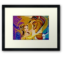Beauty and the Beast Poster Framed Print