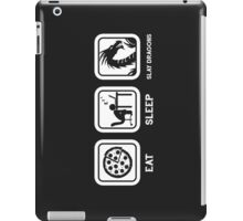 Eat, Sleep, Save Dragons (Repeat) iPad Case/Skin
