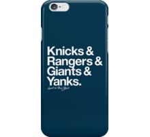 Loyal to New York (White Print) iPhone Case/Skin