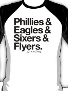 Loyal to Philadelphia (Black Print) T-Shirt