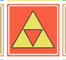 Zelda Pop Art Sticker