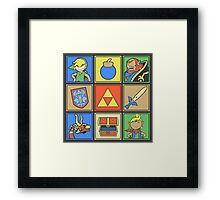 Zelda Pop Art Framed Print