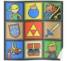 Zelda Pop Art Poster