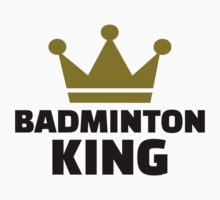 Badminton king champion by Designzz