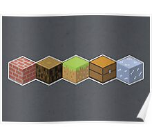 Cubes Poster