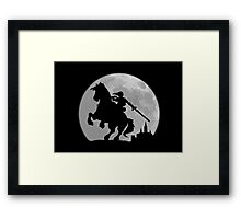 A Moonlight Ride Framed Print