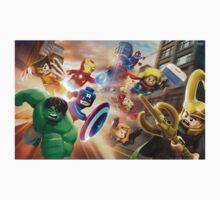 lego avengers by dubhole