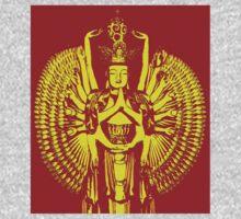 """Avalokiteshvara Bodhisattva  1 - Tshirt 2"" Kids Clothes"