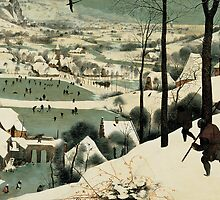 The Hunters in the Snow by Bridgeman Art Library