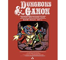 Dungeons and Ganon Photographic Print