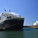 Queen Mary 2. by Terry Everson