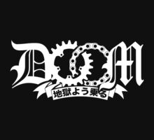 DOOM - Ride Like Hell v2 (japanese white) by DarkSkais