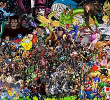 Ultimate Video Game Collage by electrivire