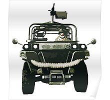 The Battle Jeep Poster
