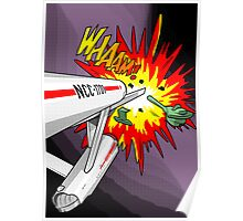 Lichtenstein Star Trek - Whaam! Poster