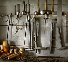 Metal Worker - Tools of a tin smith by Mike  Savad