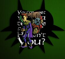 You've met with a terrible fate, haven't you? by 666hughes