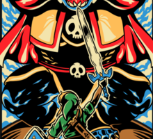 Epic Triforce of the Gods Sticker