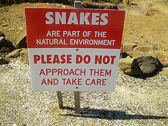 Venomous Sign - Take Notice by EdsMum