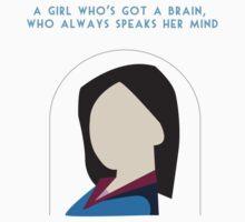 A Girl Who Always Speaks Her Mind by Katherine Shepherdson