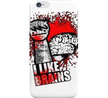 I Like Brains iPhone Case/Skin
