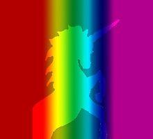 Rainbow Unicorn Phone Cover by Joe Bolingbroke