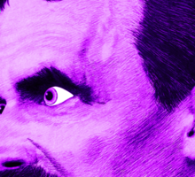 Nietzsche Burst 6 - by Rev. Shakes Sticker