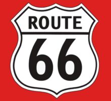 Route 66 (Small Emblem) by LetThemEatArt