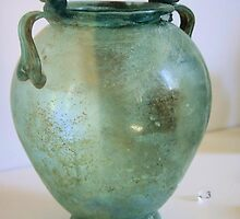Evela-Beautiful Roman Glass Vase by Francis Drake