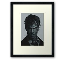 True Detective art Framed Print