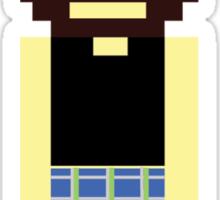 Pixel Scotsman Sticker