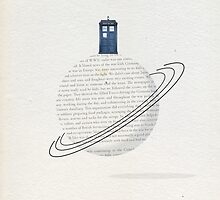 Time And Relative Dimension In Space - TARDIS by sophieresia