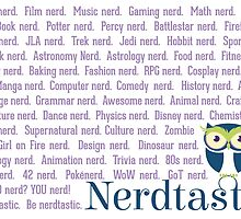 Be nerdtastic by Amanda Mayer