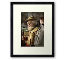 Army - A seasoned vet Framed Print