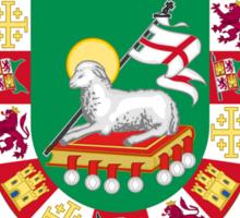 DeJesus Shield of Puerto Rico Sticker
