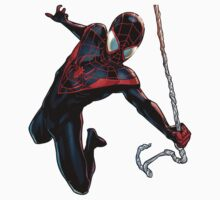 Ultimate Spider Man Miles Morales by marcogarcia