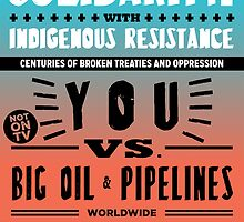 SOLIDARITY with INDIGENOUS RESISTANCE by Honor  the Treaties