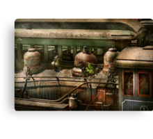 Train - Showing your age Canvas Print