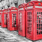 Red London Phone Box by Scott Anderson