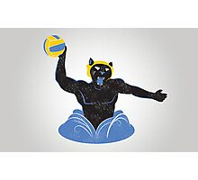 Manther Water Polo Photographic Print
