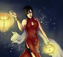Ada Wong by TEAMJUSTICEink