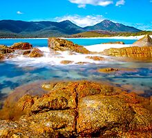 Wineglass Bay by Mark Bilham