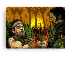 Tropic Thunder Canvas Print