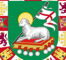 Diaz Shield of Puerto Rico Sticker