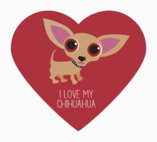 Chihuahua Heart by BonniePortraits