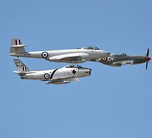 Korean War Flypast, Point Cook Airshow, Australia 2014 by muz2142