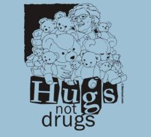 HUGS NOT DRUGS by shirtual