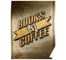 Books & Coffee Poster